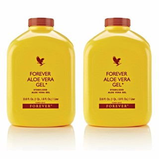 2x FOREVER ALOE VERA GEL / ALOE BERRY NECTAR / ALOE BITS N PEACHES