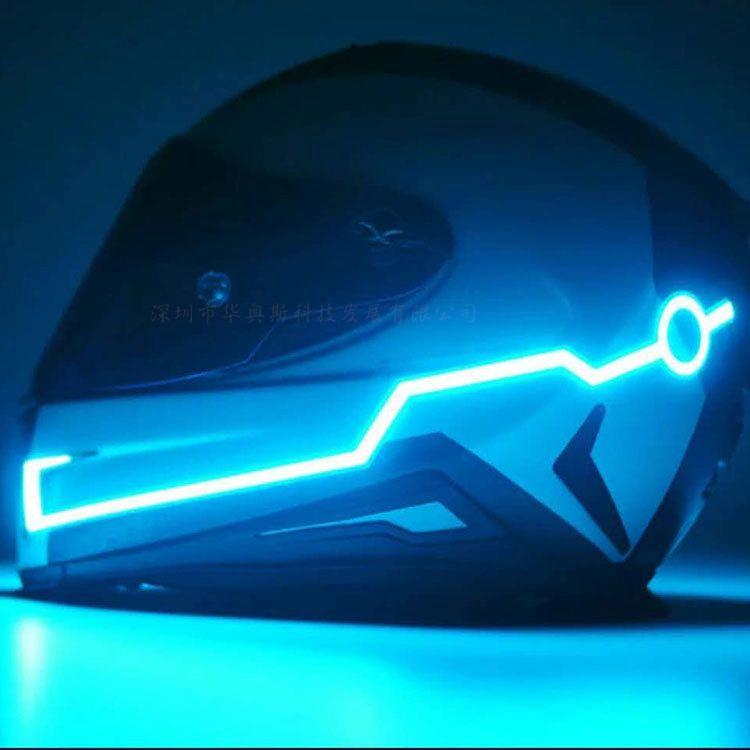 Hot sales named Angry of light for motorcycle helmet fashion night lights for motorcycle