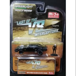 Greenlight 1/64 Mad Max Ford Falcon XB Last of V8 Interceptors TV Series Movie Car