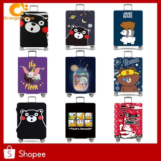 Cute Cartoon Luggage Cover Protector Suitcase Protective Covers for Trolley Case