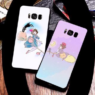 Black Soft shell Samsung A40S A80 A7 C9PRO C9 NOTE8 J72016 A92018 A92019 A72018Cartoon Magic Woman's Urgent Residence