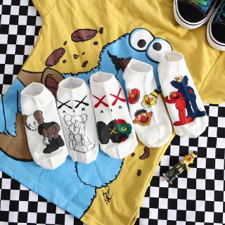 Women Cartoon Hipster Sock Lovely Cotton Breathable Female Boat Socks
