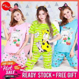 KM Short Sleeves Cartoon Night Suit Collections 2.0 Pajamas Sleep wear [PJ15101]