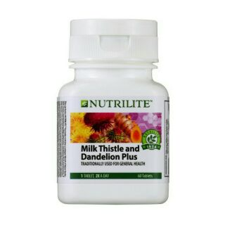 AMWAY NUTRILITE Milk Thistle and Dandelion Plus (60 tab)