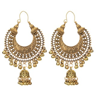 Ethnic Indian Birdcage Earring Women Antique Color Egypt Drop Earring