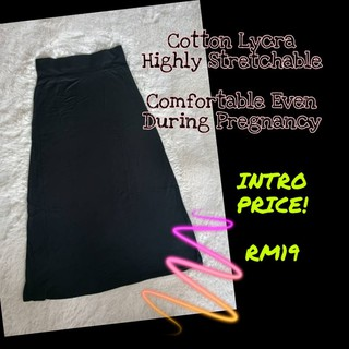 SKIRT COTTON LYCRA MUSLIMAH Comfortable Even During Pregnancy