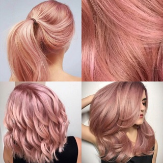 100ML ROSE GOLD 3D PROFESSIONAL HAIR COLOR CREAM