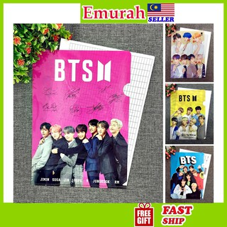 HOT ITEMBTS A4 Size Clear File Folder