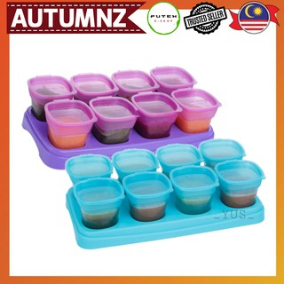AUTUMNZ BABY FOOD BREASTMILK STORAGE CUPS 2OZ