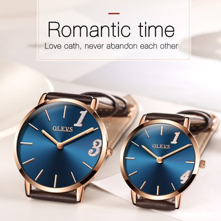 OLEVS new couple watch fashion men & women watches