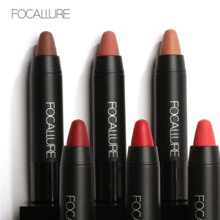 FOCALLURE 12 Colors Long Lasting Red Matte Lipstick
