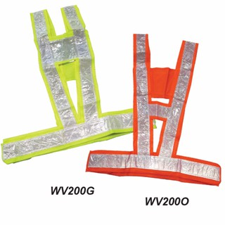 Safety Vest with V-Type