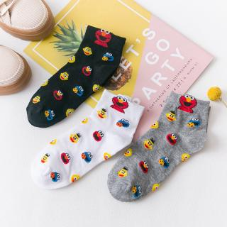 Korean Socks Cartoon Fun Ladies Cotton Socks Tide Women Ankle Socks