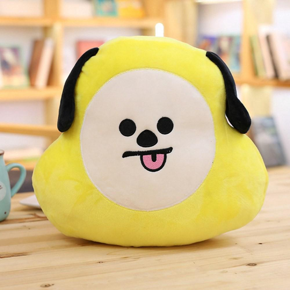 Lovely Cartoon BTS Soft Stuffed Pillow