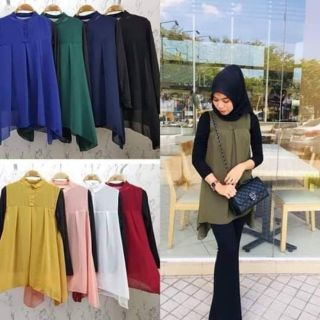 Blouse viral with inner