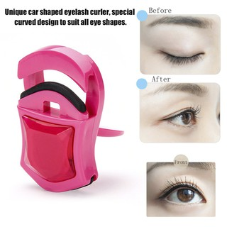 Car Shaped Mini Eyelash Curler Nature Curl Lovely Curl Eyelash Beauty Tools