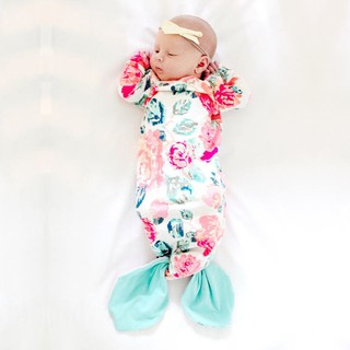 INS Baby Sleeping Bag Mermaid Sleeping Bag Air Conditioner Anti-Kick Quilt