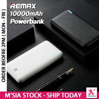 《ORIGINAL + 6 MONTH WARRANTY 》 Remax Jane Series 10000mAh Power Bank RPP-119 Portable Mobile Phone External Battery