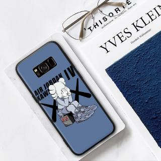 Samsung S6 S7 S8 S9 S10 Edge Plus Note 3/4/5 8/9 Depressed Kaws Print Hard Case Cover