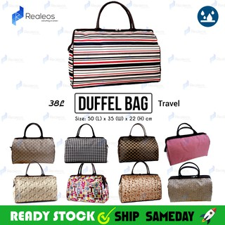 38L Realeos Hand Carry Large Capacity Duffel Luggage Travel Bag R673