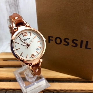 FOSSIL Jam tangan Perempuan ready Stock , DATE Function , Hot Sales !!