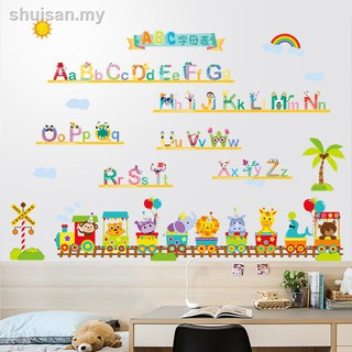 Stickers for early childhood educationChildren's English letter wall paste pronunciation classroom baby room decorated