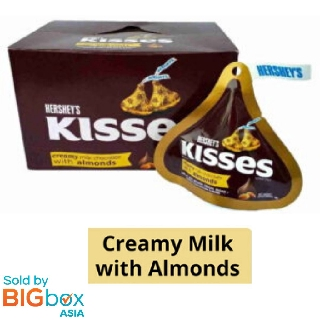 Hershey's Iconic Kisses Milk with Almond 36g x 24