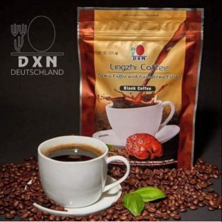 DXN Lingzhi Black Coffee with Ganoderma (Organic) Ready Stok!!