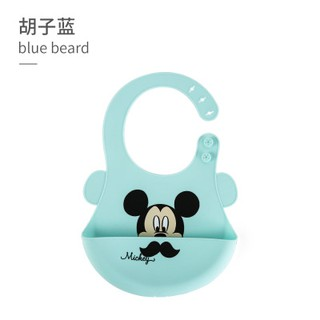 Disney Baby Bibs 100% Silicone