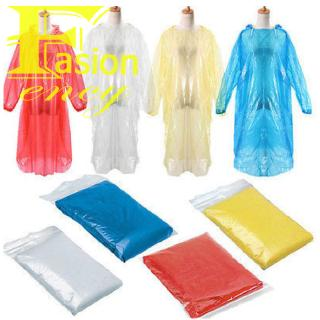 Disposable Adult Emergency Waterproof Rain Coat