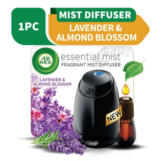 Air Wick Scented Mist Diffuser Starter Kit - Lavender & Almond Blossom