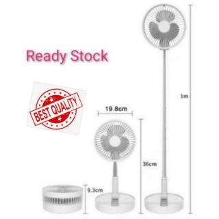 Foldable Stretching FAN Rechargeable Stand Fan Table Fan Strorable Fan3+1 收纳式风扇 便携风扇Usb充电 小型风扇家用 telescopic folding fan