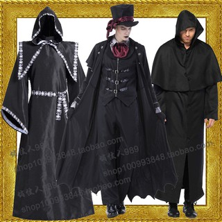 Skull Halloween costume ghost bride vampire prince clothing collection wizard zombie suits masquerade parties