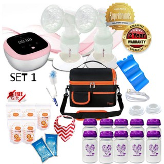 2 YEARS WARRANTY AUTUMNZ HYBRID DUO RECHARGEABLE BREAST PUMP / COMBO