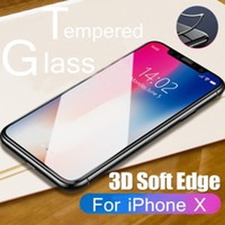 3D Tempered Glass Film Screen Protector 9H Cover for iPhone X 8 7 6 XR XS XS MAX