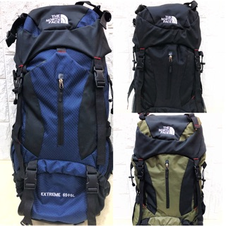 The North Face Backpack With SUB 65L Travel Hiking Bag