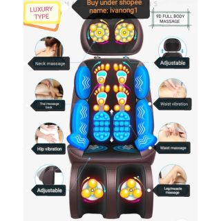 New Luxury Full Body Massage Chair Ready Stocks Receive in 1~3 days