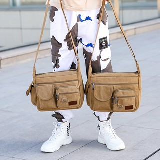 Canvas bag men''s singles men shoulder big capacity, travel bag, leisure bags inclined ku backpack