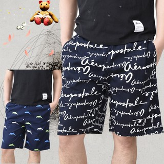 Thin cotton summer or more home sleeping can wear outside beach pants