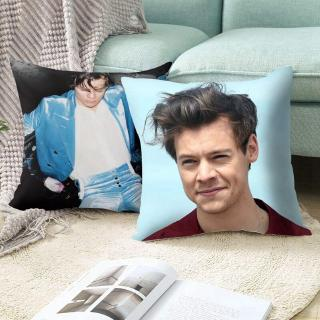 Harry Styles Pillow Cover Home Cotton Cushion Cover 45*45cm Decoratives Cushions For Sofa Seater Covers Car Pillow Case