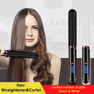 2019 New Hair Straightener Ceramic Hair Curler Negative Ion Hair Flat Iron Heating Fast