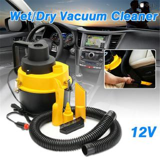 Eღ Portable 12V Wet Dry Vac Vacuum Cleaner Inflator Turbo Hand Held Fits For Car Or Shop NR-shipping