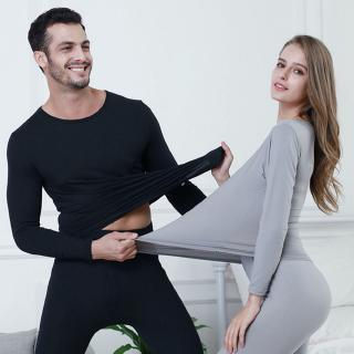 Men Women Winter Warm Inner Wear Thermal Underwear Long Johns Pajama Set