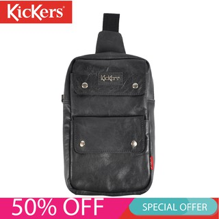 Kickers Leather Crossbody & Chest Bag KIC0063
