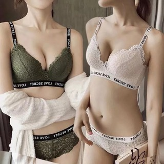 READY STOCK!!!  LOVE SECRET Japanese Fashion Style Lace Bra Confortable Push up