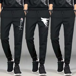Read Stock New Men's Fashion Casual Sports Pants Jogger Gym Sweatpants Plus size S-5XL