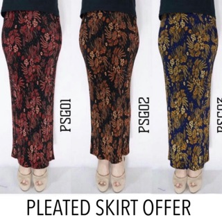 Skirt Pleated ( Can Stretch xs to 3xl )