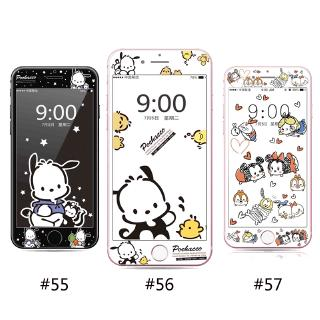 Pochacco Cartoon Painting Screen Protection Soft Edge Full Cover for iPhone 7plus 6 6S 6Plus 6sPlus