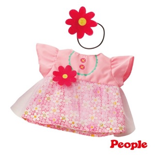 Japan Popo - Chan Doll - Clothes Series - Flower Tulle Dress Combination