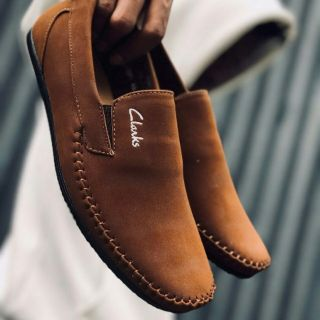 CLARKS SLIP ON LOAFER VIRAL ALMOND BROWN SIZE 40-45 READY STOCK MALAYSIA + GIFT